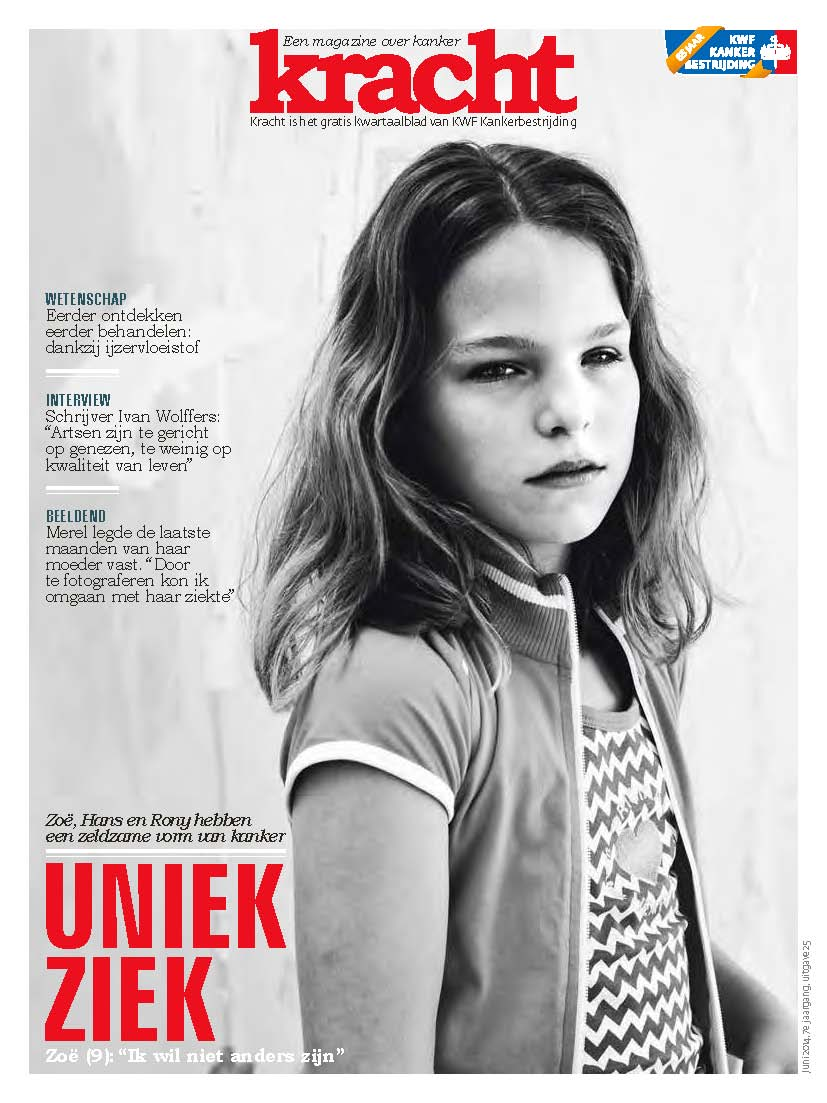 KWF Kankerbestrijding, magazine Kracht