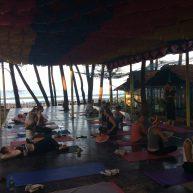 Goa: Yoga morning practice @ sea