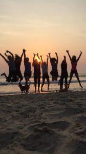 Sunset @ Patnem beach